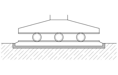 Sanace betonových kontrukcí - podlití mostního ložiska