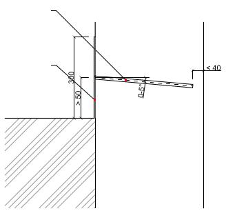 Liniová injektáž zdiva látkou ResiInjekt Cream - 1 řada