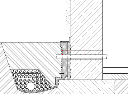 Sanace betonových konstrukcí. Provedení dodatečné hydroizolace z vnější strany - bitumenová báze
