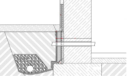 Sanace betonových konstrukcí. Provedení dodatečné hydroizolace z vnější strany - minerální báze