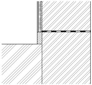 Mechanické metody - sanační omítka - typ sanace 1