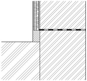 Mechanické metody - sanační omítka - typ sanace 2