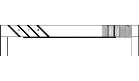 Vyztužení prostého nosníku – konst. průřez