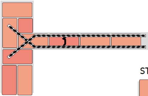 Kotvení odtrženého zdiva z vnitřní strany