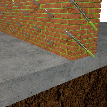 Plošná hydroizolace ve stavebním dílci