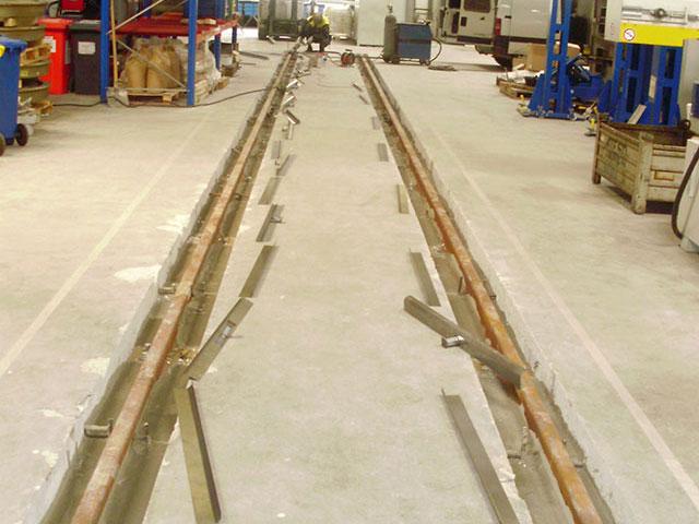 Zalévání ocelových prvků