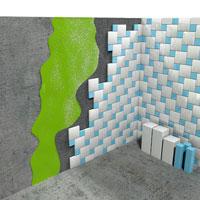 Hydroizolace - Tekutá guma - Nátěr za dlaždicemi
