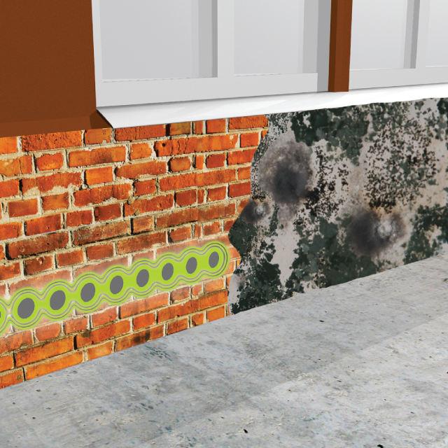 Sanace vlhkého zdiva – odvlhčování staveb