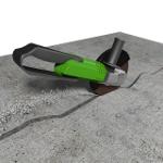 Sešívání trhlin v betonové podlaze