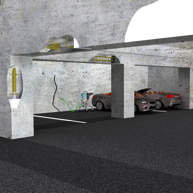 Sanace betonu - statika staveb