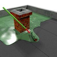 Hydroizolace - Tekutá guma - Nátěry střech