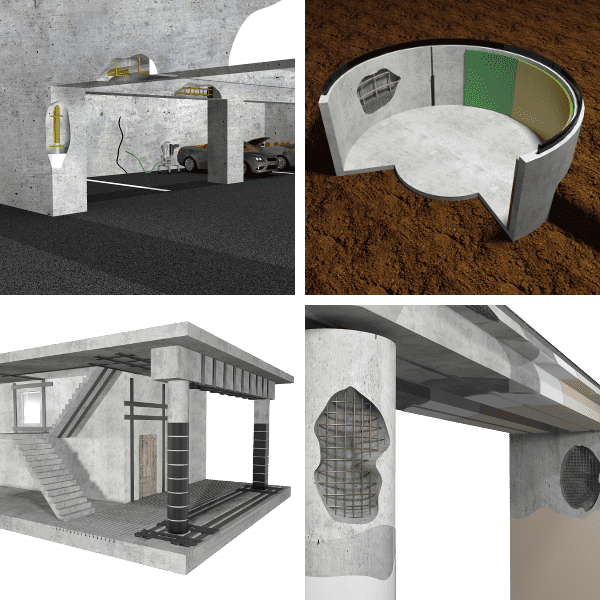 Statika staveb – sanace betonu
