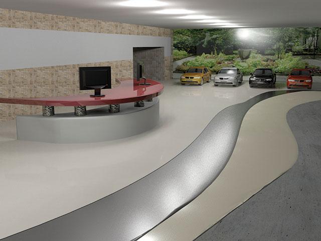 Podlahové nátěry - recepce