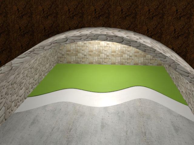 Podlahové nátěry - sklep